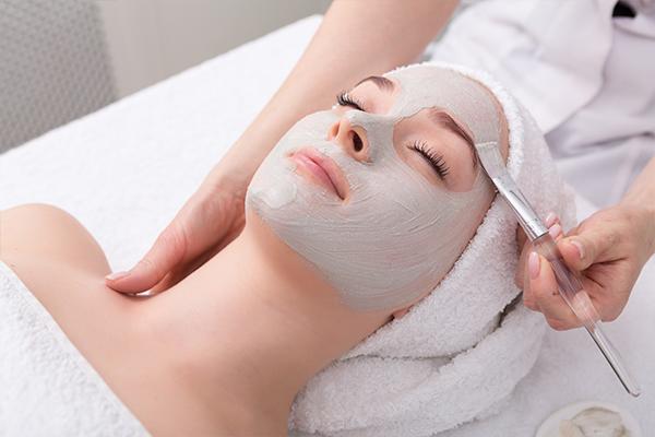exfoliating facial